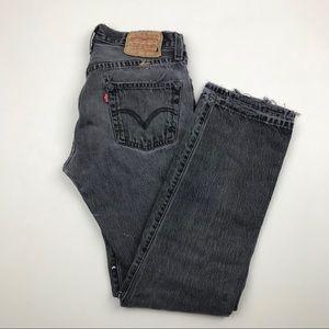 Vintage LEVI'S 501 Distressed Jeans Sz 29 Re/Done